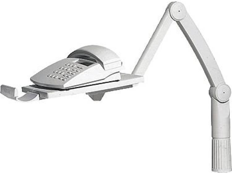 Telefoonzwenkarm Hansa TSA5020002 Kantelbaar, Zwenkbaar Lichtgrijs 1 stuks