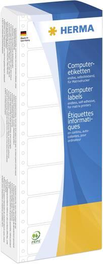 HERMA computeretiketten/8161 88,90 x 35,70 mm wit 1 baan inhoud: 2000 stuks