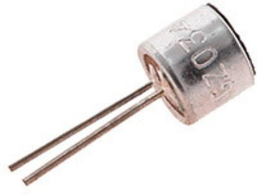 Elektreet microfoonkap EMY-63M/P Voedingsspanning: 3 - 10 V/DC -38 dB