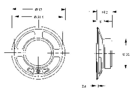 Mini-luidspreker LSM-serie