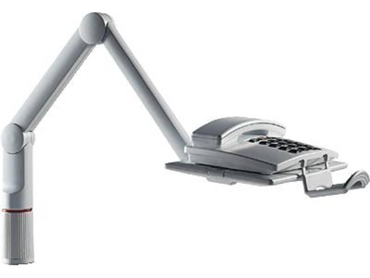 Telefoonzwenkarm Novus TalkMaster 7100002000 Kantelbaar, Zwenkbaar Lichtgrijs 1 stuks