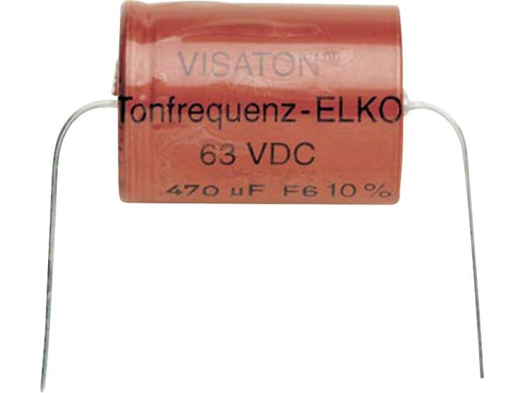 Bipolaire elco 47 uF 63 V