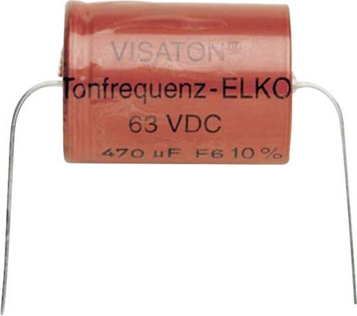 Visaton Elco 100 UF Toonfrequentie condesator (100,0 µF)