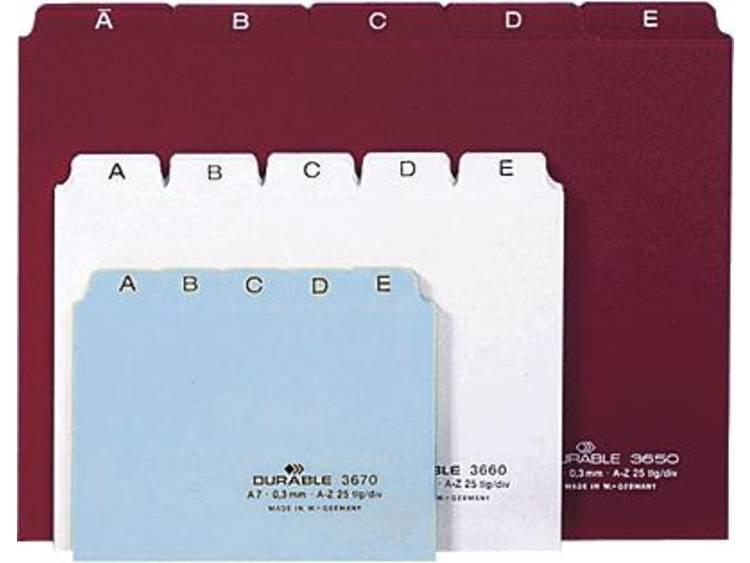 Durable register 3650-02 DIN A5 liggend wit PP
