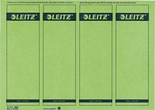 Leitz rugetiketten, op pc beschrijfbaar/1685-20-55 61x191mm groen inh.100