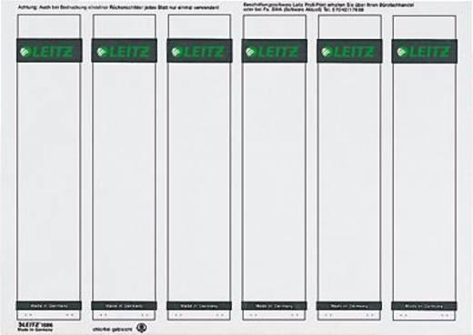 Leitz rugetiketten, op pc beschrijfbaar/1686-00-85 39x191mm grijs inh.600