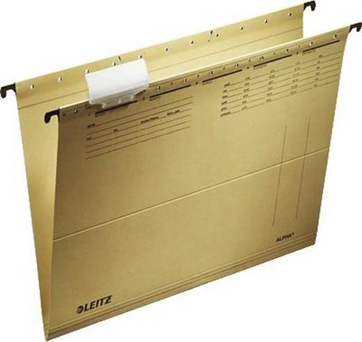 Leitz hangmap Alpha/1915-00-00 A4 natuurbruin 250 g/m² inh. 25 stuks