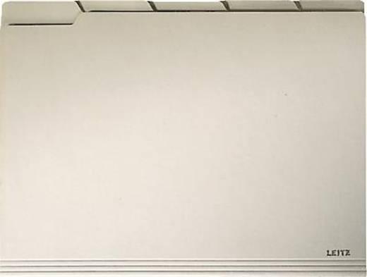 Leitz instelmap met tabblad 2434/2434-00-11 A4 chamois 230g/m² inh.100