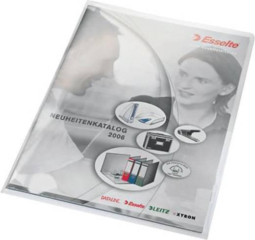 Leitz transparante hoezen topkwaliteit/4100-10-03 A4 kleurloos inhoud 500 st.