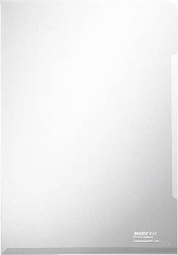 Leitz transparante hoezen topkwaliteit 4153/4153-00-03 kleurloos inhoud 100 st.