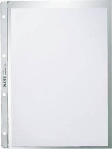 Leitz insteekhoezen mat/4720-00-03 A4/130my kleurloos PP inh.100 st.