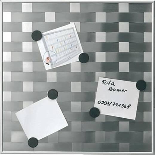 Franken matrixbord/765002 47,5x47,5 cm zilver 2,4