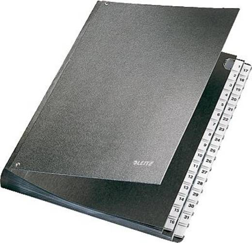 Leitz bureaumap/5831-00-95 270x345 mm voor: A4 zwart 1-31