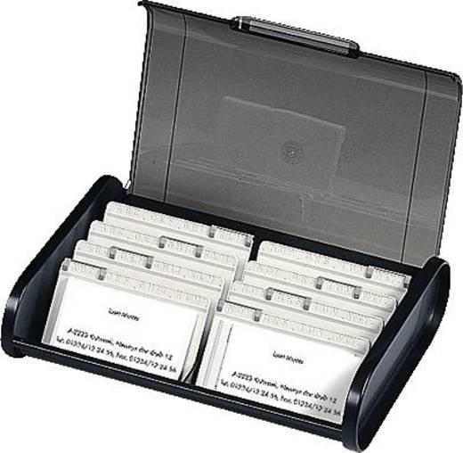 Multiform verdeelplaatjes voor visitekaart-opbergdoos/68441D lichtgrijs 8 stuks