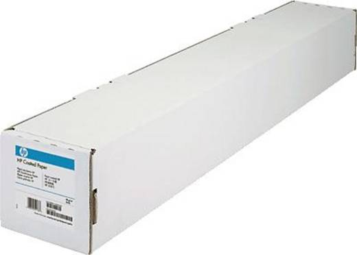 HP Coated Paper Plotterpapier 61 cm x 45,7 m 90 g/m² 1 rollen Wit