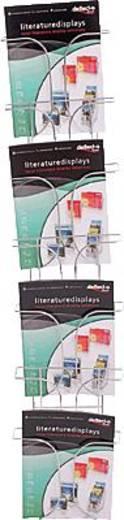 Deflecto folderstandaard/DE78645 DIN A4 7 vakken