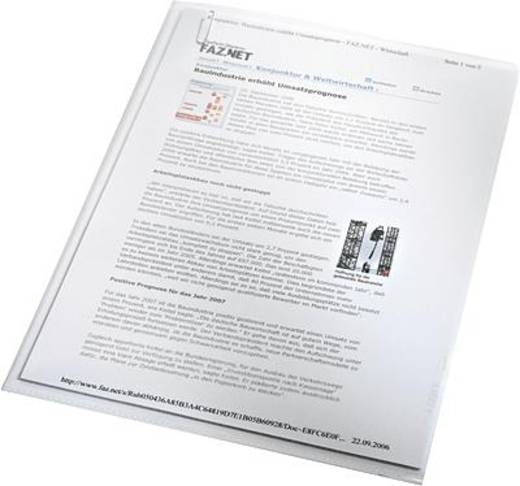 Leitz-showtassen standaard/4000-00-03 A4 transparant 100 stuks