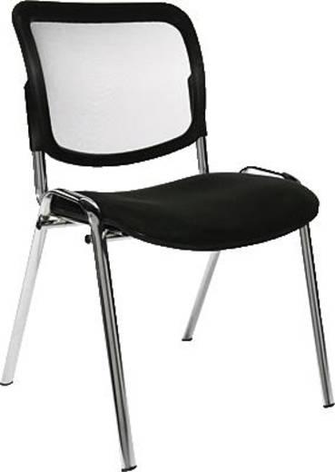 Topstar bezoekersstoel Net Point Visit/NZ900G20 zwart verchroomd inh.4 st.