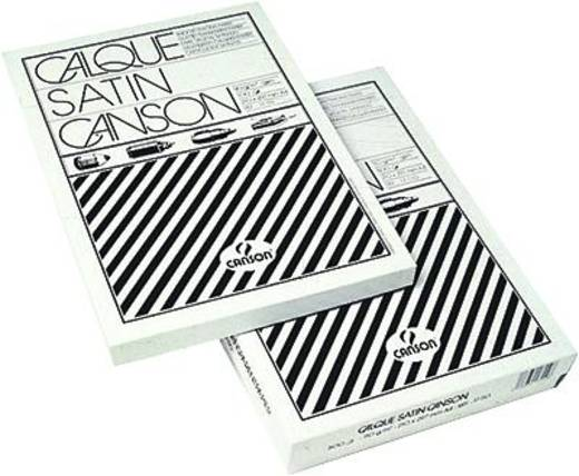 Canson 11632 Canson tekenpapiervellen/11632 A3 110/115g/m2 100 stuks Transparant Inhoud: 100 stuks