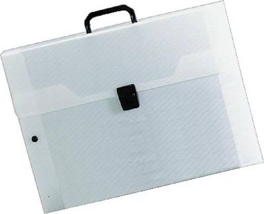 Rumold tekenkoffer/370306 A2 transparant polypropyleen