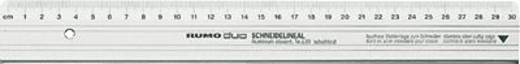 Rumold snijlinialen/639/100 100 cm zilver aluminium