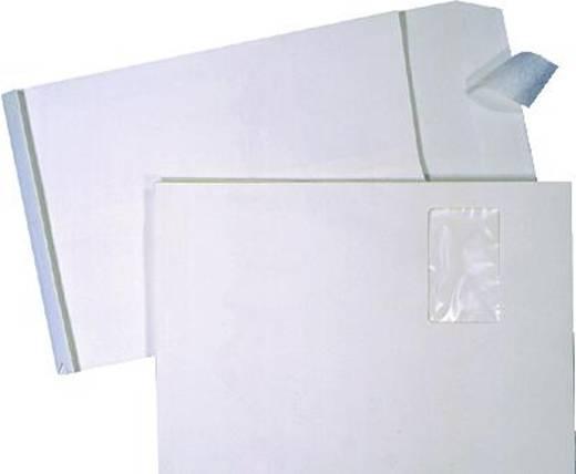 Vouwenvelop met uitklapbodem, HK/3005234 E4 bruin extra dik papier 140 g/m2 100 stuks