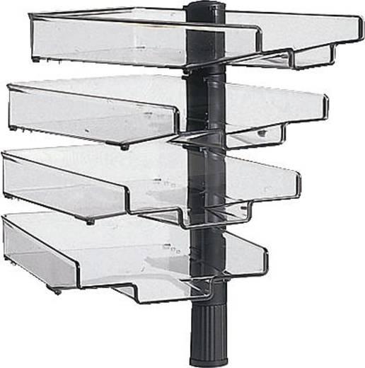 Hansa draaistandaard/5034002 lichtgrijs 510 mm