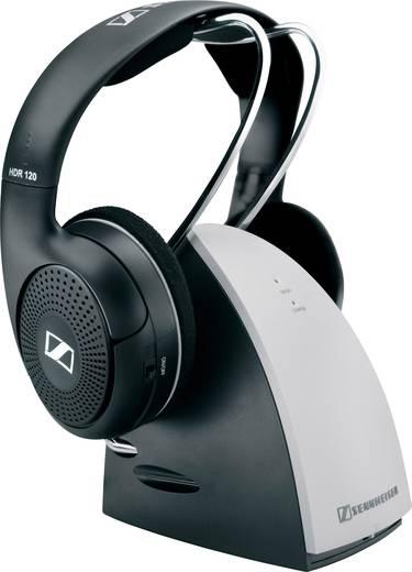 Sennheiser RS120 II Radiografisch Koptelefoon On Ear Volumeregeling Zwart, Zilver