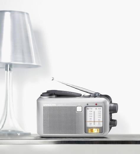 FM Outdoorradio Sangean MMR-77 Middengolf, FM Spatwaterbestendig, Zaklamp, Herlaadbaar Grijs