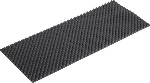 Akoestisch schuimstof (l x b x h) 1000 x 400 x 20 mm B2240