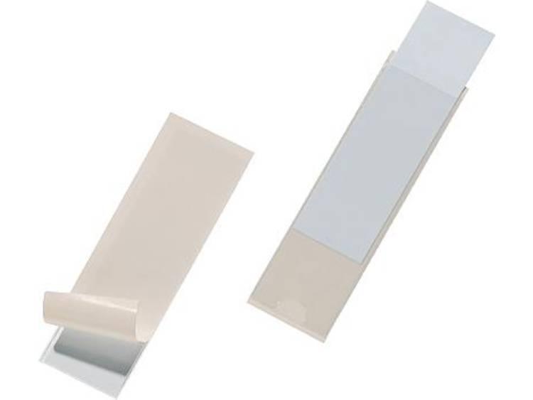 Durable Pocketfix (b x h) 100 mm x 30 mm Transparant 10 stuks 8073-19