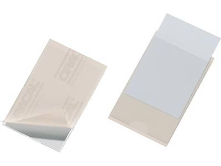 Durable Pocketfix (b x h) 90 mm x 57 mm Transparant 100 stuks 8379-19