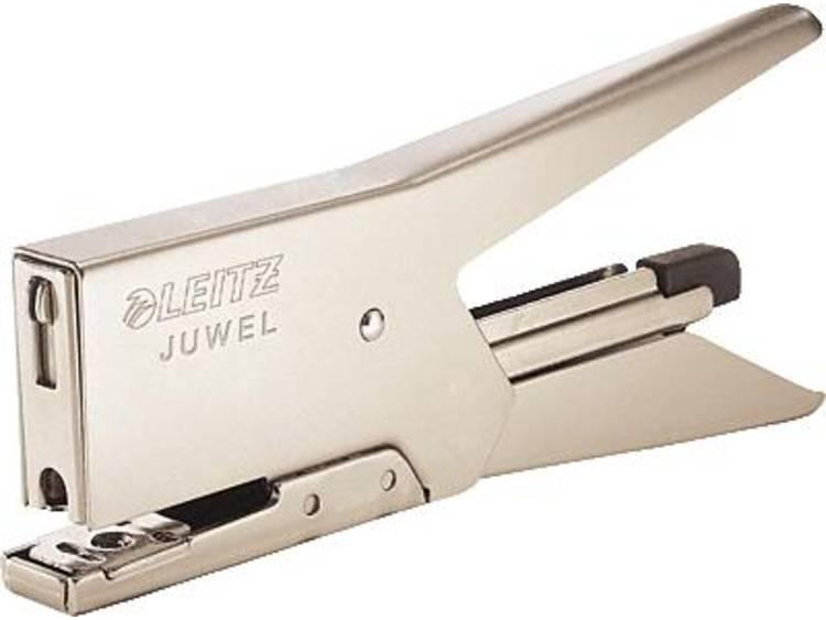 Leitz 5557-00-82 Heftcapaciteit:12 vel (80 g/m²) Nikkel 1 stuks