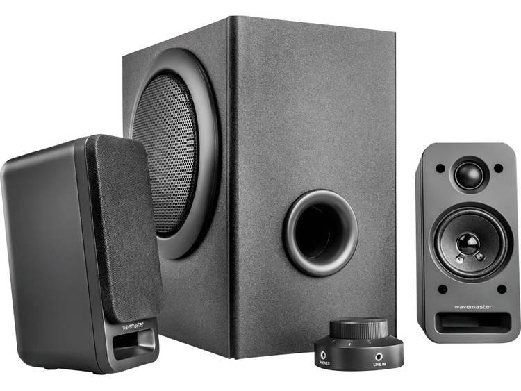 Wavemaster MX 3+ 2.1 PC-luidsprekers Kabelgebonden 50 W Antraciet