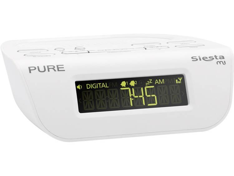Pure Siesta Mi Serie II DAB+ Wekkerradio DAB+, FM Wit