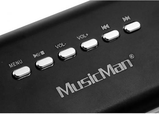 Technaxx MusicMan MA Display soundstation Kabelgebonden speaker Zwart