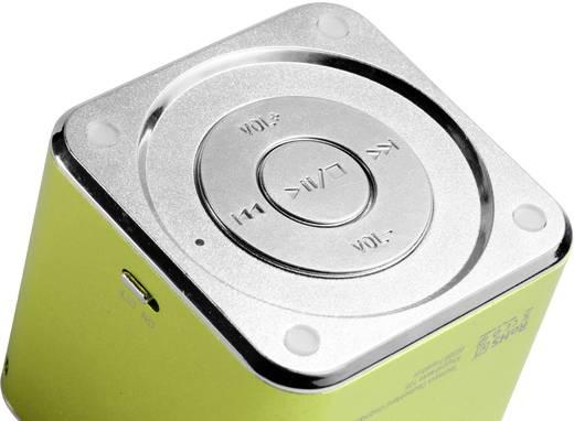 Mini-luidspreker Technaxx MusicMan Mini Soundstation groen