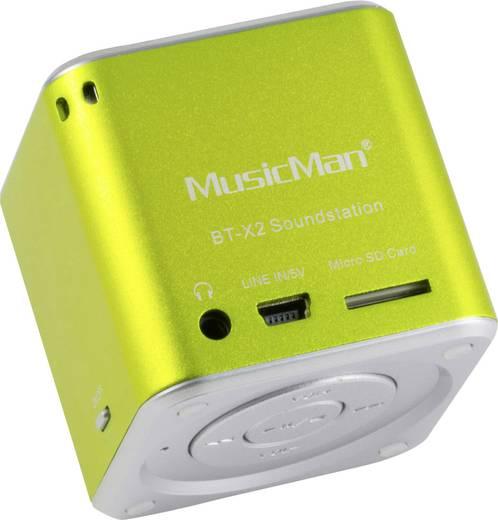 Technaxx MusicMan Mini Wireless Soundstation BT-X2 groen