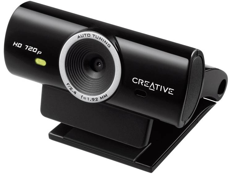 Creative LIVE CAM SYNC HD 720P HD-webcam 1280 x 720 pix Standvoet, Klemhouder