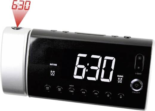 Soundmaster UR 1000 wekkerradio met klokprojectie en Wake-Up-Light-functie