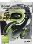 G-Star HS-343XP gaming-headset voor PS3, Xbox 360 en PC zwart/groen