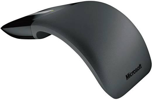 Microsoft Arc Touch Mouse Draadloze muis Optisch Touch-oppervlak Zwart
