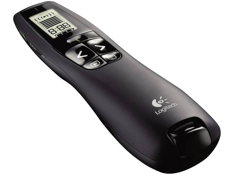 Logitech R700 Radiografische presenter Incl. laserpointer, Geïntegreerd display