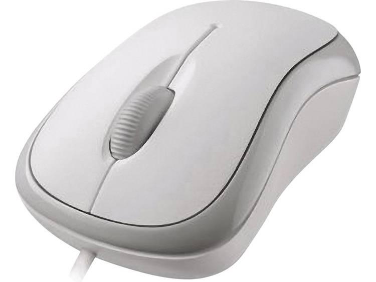 Microsoft Basic Optical Mouse USB muis Optisch Wit