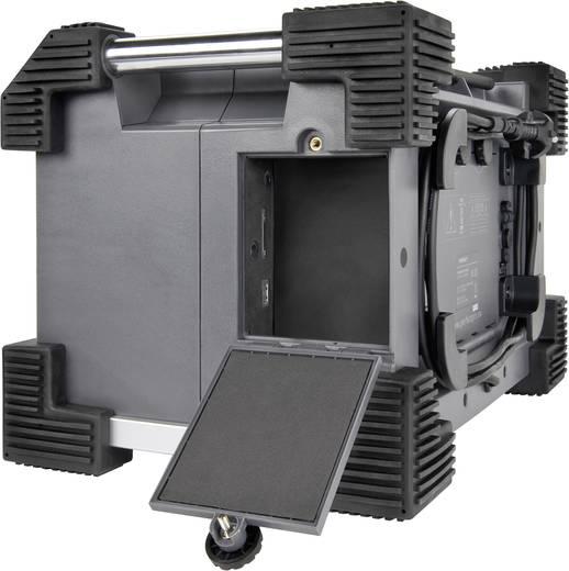 FM Bouwradio PerfectPro Rockhard bouwplaatsradio AUX, SD, FM, USB Spatwaterbestendig, Stofdicht, Stofvast Grijs