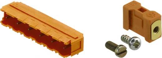Connectoren voor printplaten SL 7.62/10/90B 3.2SN OR BX Weidmüller Inhoud: 50 stuks