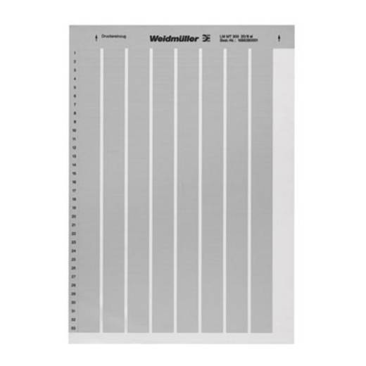 Kabelcoderingslabel LM MT300 25,4X12,7 SI Weidmüller Inhoud