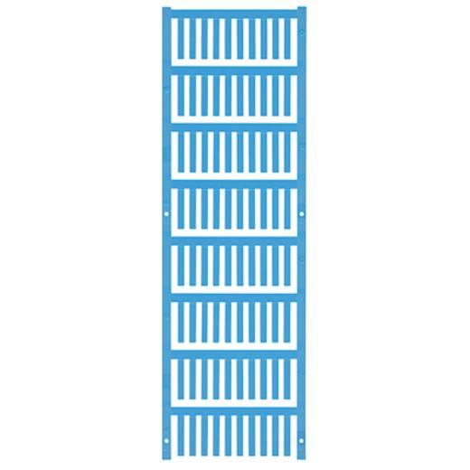 Kabelmarkering Montagemethode: Vastklemmen Markeringsvlak: 21 x 3.6 mm Atol-blauw Weidmüller VT SF 2/21 NEUTRAL BL V0 1
