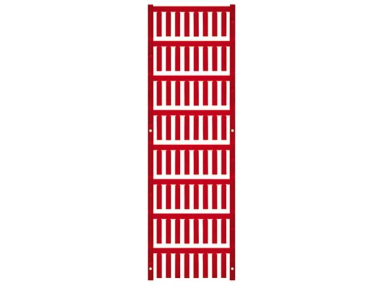 Kabelmarkering Montagemethode: Vastklemmen Markeringsvlak: 21 x 4.6 mm Rood Weidmüller VT SF 3/21 NEUTRAL RT V0 1689430003 Aantal markeringen: 512 512 stuks