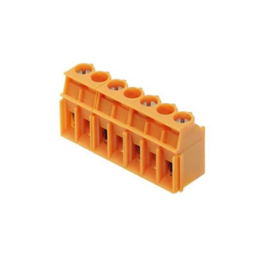 Klemschroefblok 4.00 mm² Aantal polen 4 LP 10.00/04/90 3.2SN OR BX Weidmüller Oranje 50 stuks